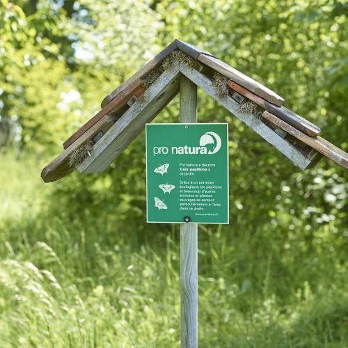 Belle réponse de Pro Natura pour notre jardin-rucher